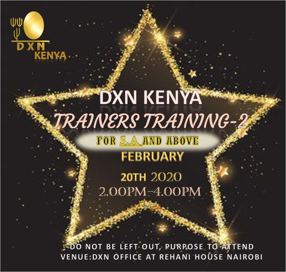 <h4>Trainers Training-2</h4><p><p>Dear Members,</p>  <p>We will have our Part-2 Trainers Training on 20th February 2020 from 2pm.</p>  <p>Keep time.</p> </p>