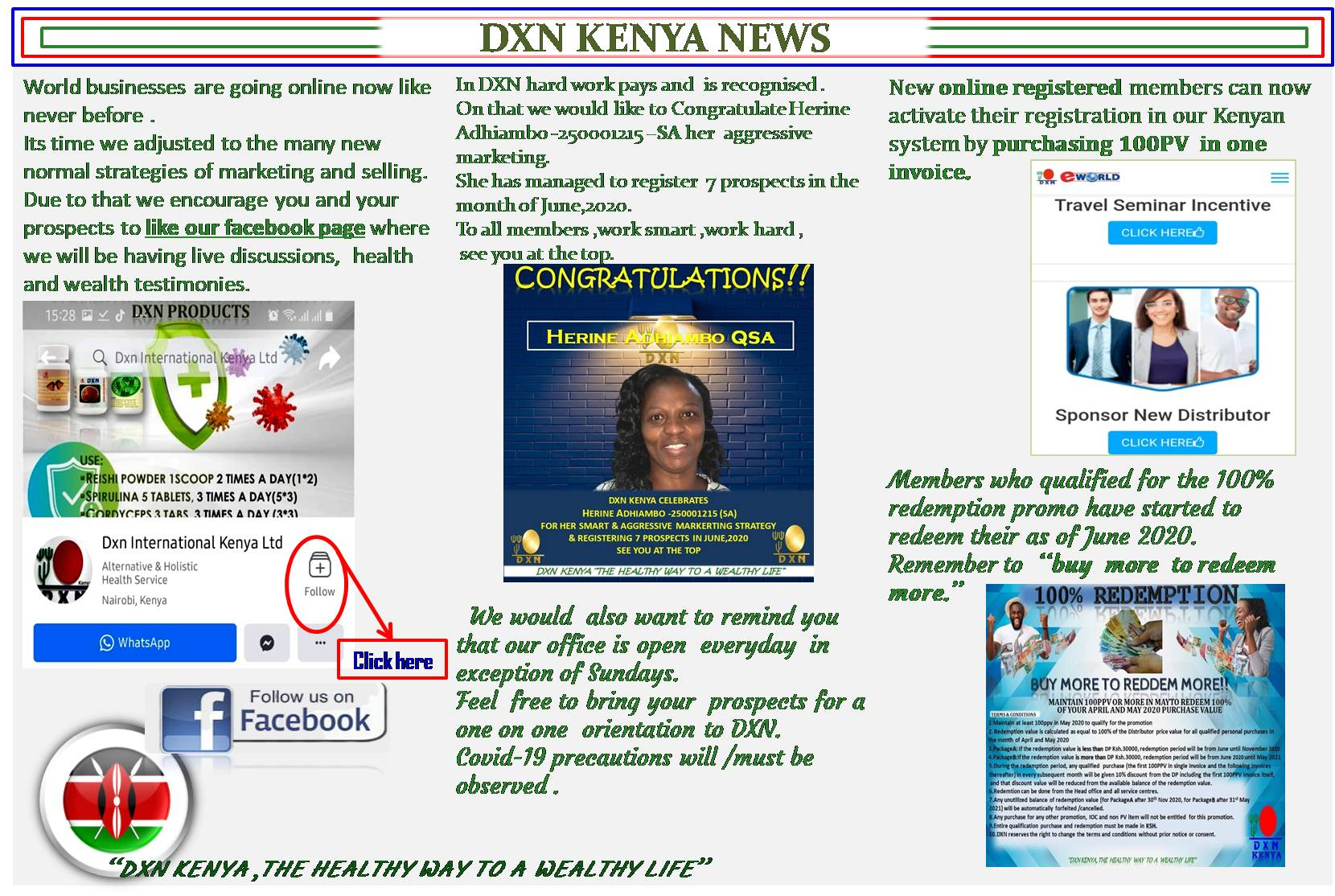 <h4>Kenya News Letter</h4><p><p>See the news letter below</p> </p>